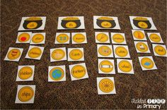 Digraph word and picture sort