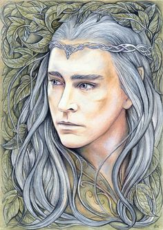 King of Mirkwood - drawing by jankolas on DeviantArt