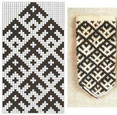 Tapestry Crochet, Knitting Charts, Mittens, Animal Print Rug, Craft Bags, Punto De Cruz, Dots, Tricot, Wool