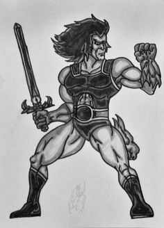 Lion-O lord of the ThunderCats!