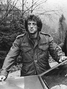 Us Army Jacket, M65 Jacket, Hipster Fashion, Mens Fashion, Stallone Rocky, Silvester Stallone, John Rambo, Cinema, Dapper Dan
