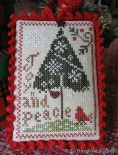 Joy and Peace LHN  Punto de Cruz / Cross Stitch