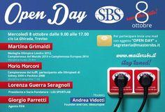 Martina Grimaldi e Maria Marconi all'Open Day del #mastersbs! #masterinsport #laghirada