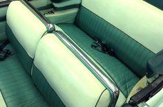 1956 Buick Roadmaster Convertible - Original Front and Rear Seat Upholstery - Before - LeBaron Bonney Company: www.lebaronbonney.com (1)