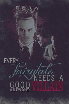 Sherlock Every Fairytale Needs A Good Old Fashioned Villain