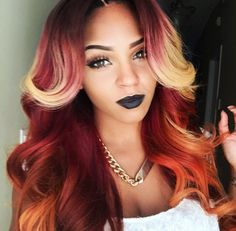 Omg I ADORE this color!!! Would love for my locs to be this color