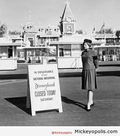 Walt Disney made the decision to close Disneyland on November 23, 1963, following the assassination of President John F. Kennedy.