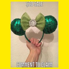 """1. All designated sale ears are $20 plus shipping and handling. Shipping within the US will be $5 international shipping with be $15.  2. All sales final- no refunds or exchanges.  3. Promo codes cannot be combine with sale price.  4. To claim an item comment on that items IG post with """"ME"""". If someone has already commented to claim you can still comment in case the person before you does not complete the purchase.  5. All claimed items must be paid for in 24 hours via Etsy (8/15). Once the…"""