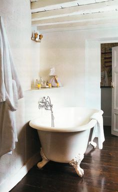 i have always wanted one of these - my house used to have a claw-foot tub!