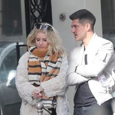 Lottie Moss with partner Alex Mytton spotted walking the streets of Paris together (328236)