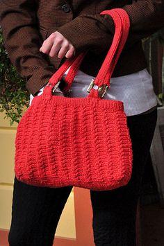 pleasing portland purse knit pattern