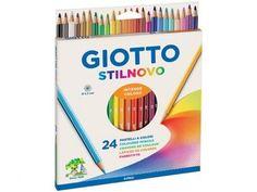 Lápis de Cor Stilnovo 24 Unidades - Giotto com as melhores condições você encontra no Magazine Edmilson07. Confira!
