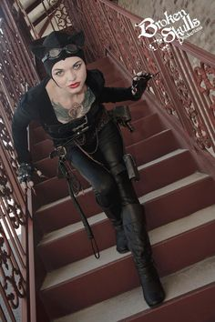 Steampunk Catwoman by Hythrall on deviantART