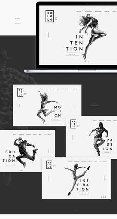 Diana Polar on Behance Website Design Inspiration, Website Design Layout, Web Layout, Graphic Design Inspiration, Layout Design, Layout Site, Design Responsive, Web Ui Design, Brochure Design