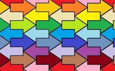 Tessellating Arrows by Quipitory.deviantart.com on @DeviantArt