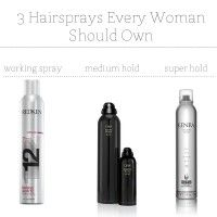 3 Hairsprays Every Woman Should Own//babble.com