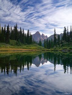 Turret Peak, Emerald Lake, San Juan Mountains, Colorado, Weminuche Wilderness