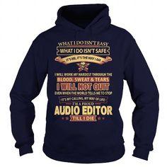 AUDIO-EDITOR T-Shirts, Hoodies (39$ ==►► Shopping Here!)