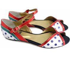 POP - Louloux - Sapatos Colecionáveis  #shoes #collectible #fashion #sustainable #enviroment #colors #art #bag #fairtrade
