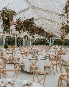 tented wedding reception lighting ideas Wedding Reception Lighting, Marquee Wedding, Tent Wedding, Wedding Reception Decorations, Wedding Table, Rustic Wedding, Wedding Ceremony, Decor Wedding, Classy Backyard Wedding