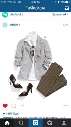I need this jacket and pants!! @stitchfix