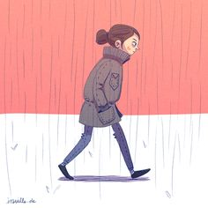 Walk cycle (GIF Animation) by Iraville Illustration Tumblr, Illustrations, Character Illustration, Illustration Artists, Animiertes Gif, Animated Gif, Gifs, Walking Gif, Animation Reference