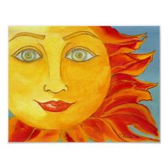 Warm Sun Poster