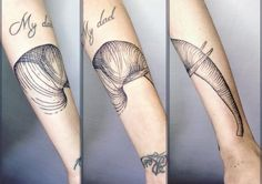 Image result for spiral tattoo on arm