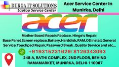 Acer Service Center in Munirka, Delhi have top quality technicians available they will solve your entire laptop issue in less than an hour with quality. Acer Computers, Acer Notebook, Laptop Screen Repair, Acer Travelmate, System Restore, Pc Repair
