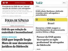 Função da OAB: produzir manchetes a favor do PT