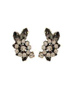 The Stargazer Cresent B.Diamond Earrings by JewelMint.com, $56.00