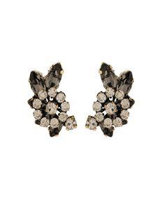 The Stargazer Cresent B.Diamond Earrings by JewelMint.com, $56.00