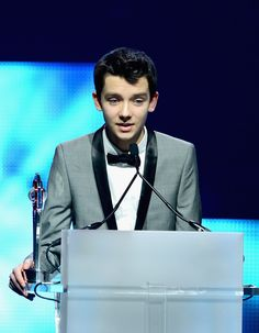 No Artemis Fowl pinterest board is quite complete without at least one picture of Asa Butterfield. He may be too old for it now, but wouldn't he just have made the PERFECT Artemis Fowl II?