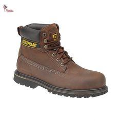 d4b6ea4af6c Caterpillar Holton, Cheville Bottes de sécurité mixte adulte: Amazon.fr:  Chaussures et Sacs