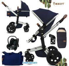 http://www.bebeqo.nl/joolz-day-earth-edition-parrot-blauw-kinderwagen-reiswieg-autostoel Joolz Day Earth Edition Parrot Blauw Kinderwagen Reiswieg Autostoel