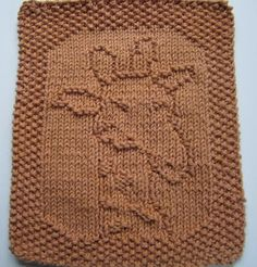 Down Cloverlaine: Knit Giraffe Washcloth pattern and other free downloads for washcloths