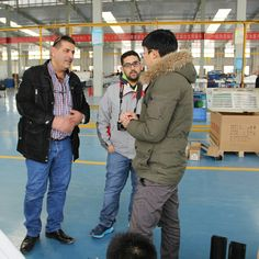 Lebanese customers visit the Truck refrigeration unit and body workshop  http://www.guchen.com/