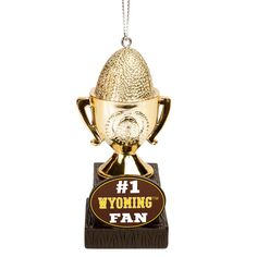 Wyoming Cowboys Trophy Ornament - $7.99