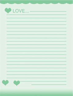 Free Printable Lined Stationery Templates - Bing images