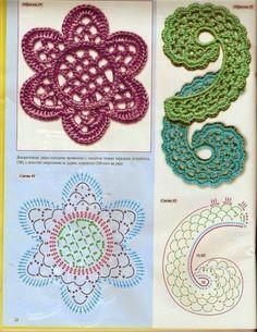 Mis Pasatiempos Amo el Crochet: Colección de motivos de encajes