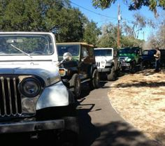 Lake Eufalua Jeep ride 2/2/13