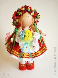 Кукла украинка своими руками