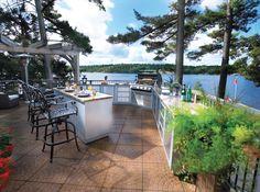 Outdoorküche Deko Dapur : 10 besten outdoor kitchens napoleon oasis bilder auf pinterest