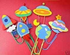 Outer space mega clips craft