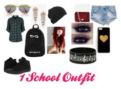 """""""1 Outfit For School"""" by kikilee01 on Polyvore"""