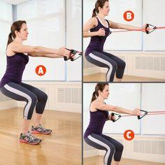 entraînement de perte de graisse de bande de résistance