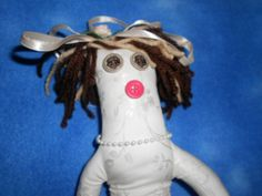 Great gift for the bride to be!  Bride Doll by tobeesgifts on Etsy, $21.95