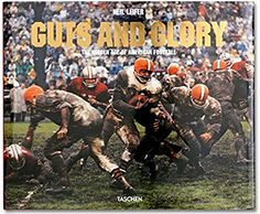 """Livro """"Guts and Glory - The Golden Age Of American Football"""""""