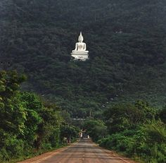 Buddha Statue in Forest Pak Chong, Thailand