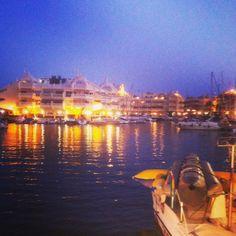Benalmadena marina on the 27th August 2013